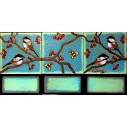 Chickadee Mural small