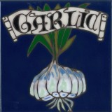 Garlic - Hand Painted Art Tile