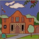 The Alamo Mission in San Antonio Texas