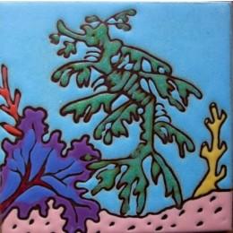 Leafy Sea Dragon - Hand Painted Art Tile