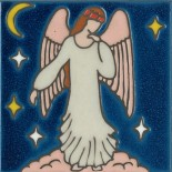 Angel - Hand Painted Art Tile