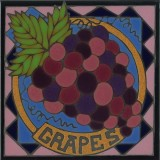 Grapes - Hand Painted Art Tile