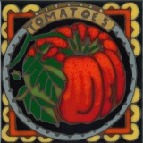 Tomatoes - Hand Painted Art Tile