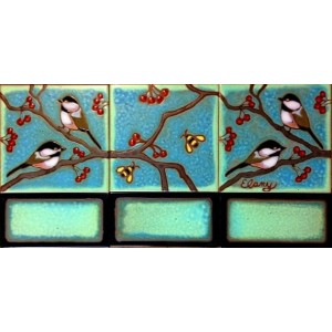 Chickadee Mural small