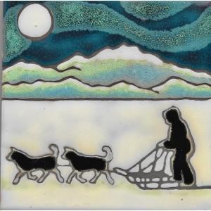 Dog Sled and Musher
